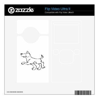 Confident Dog Skin For Flip Ultra II