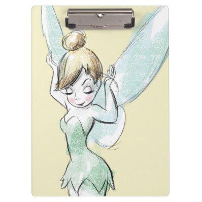 Confident Tinker Bell Clipboard