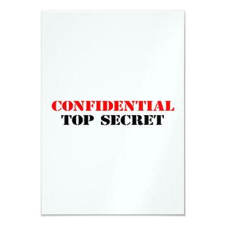 Confidential Card
