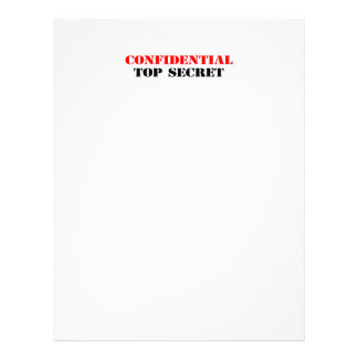 Confidential Custom Flyer
