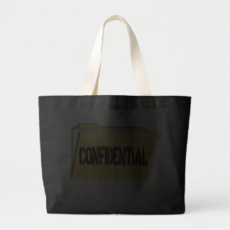 Confidential Folder With Paper Bags
