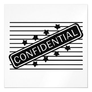Confidential Magnetic Card