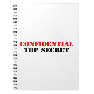 Confidential Notebook