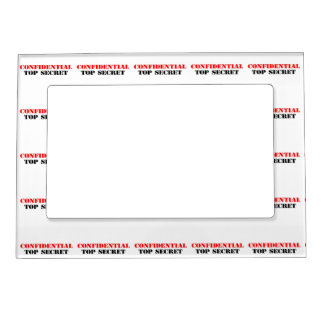 Confidential Photo Frame Magnets