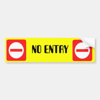 Confidential Top Secret Warning No Entry Sticker