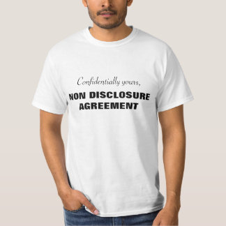 Confidential clothing apparel zazzle for T shirt licensing agreement