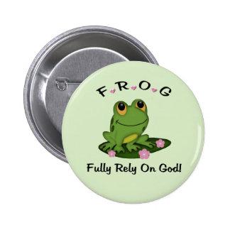 Confíe completamente en el botón de dios pin