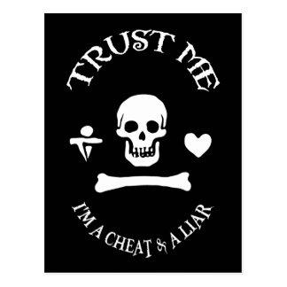 Confíe en al pirata postal