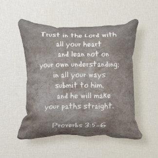 Confíe en en el señor con todos sus proverbios 3 d