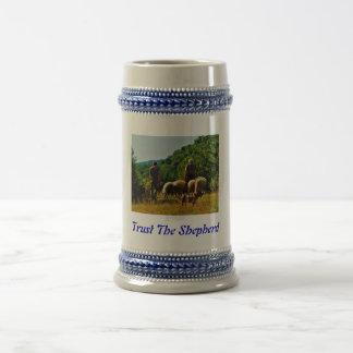 Confíe en la taza del pastor