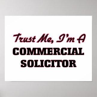 Confíe en que yo es abogado comercial posters