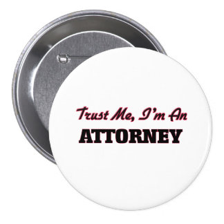Confíe en que yo es abogado pin