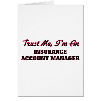Confíe en que yo es administrador de cuentas del tarjetas