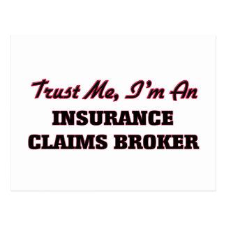 Confíe en que yo es agente del crédito de seguro postales