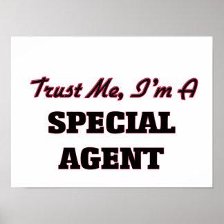 Confíe en que yo es agente especial impresiones