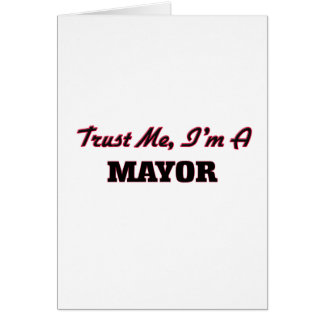 Confíe en que yo es alcalde