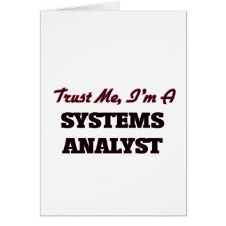 Confíe en que yo es analista de sistemas felicitaciones
