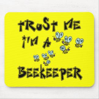 Confíe en que yo es apicultor tapetes de ratón