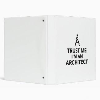 Confíe en que yo es arquitecto