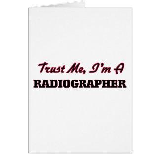 Confíe en que yo es ayudante radiólogo