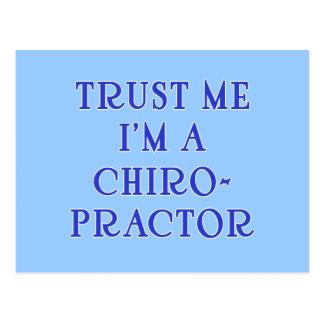 Confíe en que yo es Chiropractor Postal