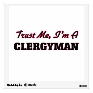 Confíe en que yo es clérigo
