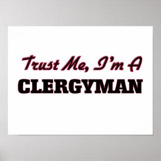 Confíe en que yo es clérigo posters