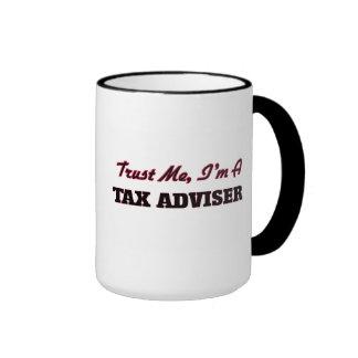 Confíe en que yo es consejero de impuesto taza