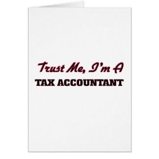 Confíe en que yo es contable del impuesto tarjeton
