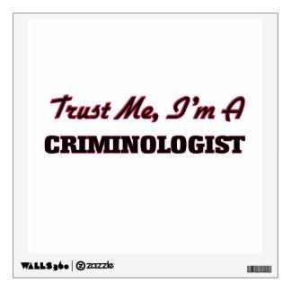Confíe en que yo es criminalista