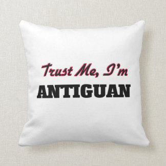 Confíe en que yo es de Antigua Almohada