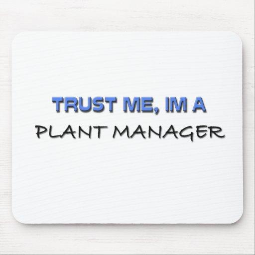 Confíe en que yo es director de planta tapetes de ratones