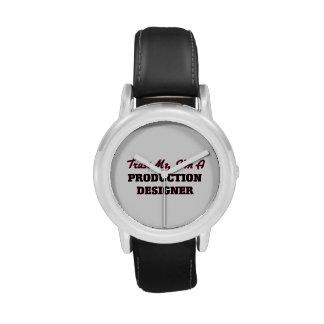 Confíe en que yo es diseñador de la producción relojes de pulsera