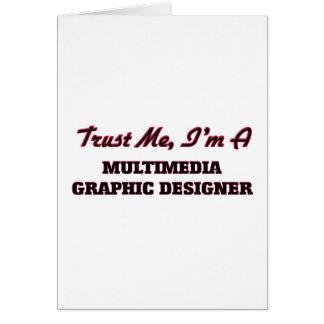 Confíe en que yo es diseñador gráfico de las