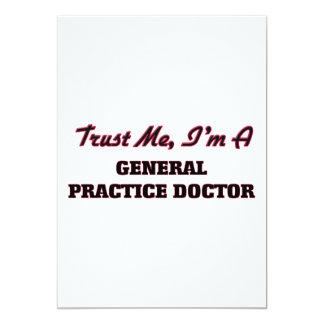 Confíe en que yo es doctor de la práctica general anuncio personalizado