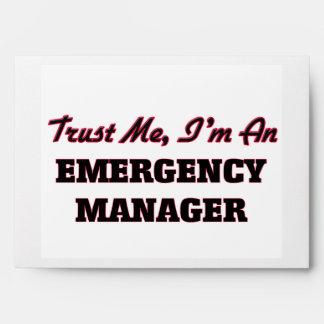 Confíe en que yo es encargado de la emergencia