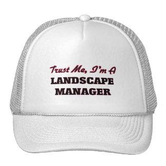 Confíe en que yo es encargado del paisaje gorro