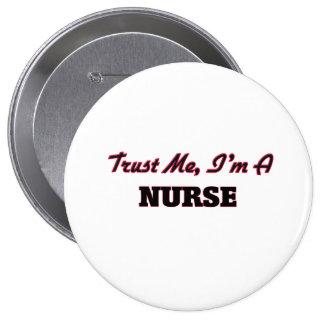 Confíe en que yo es enfermera pins
