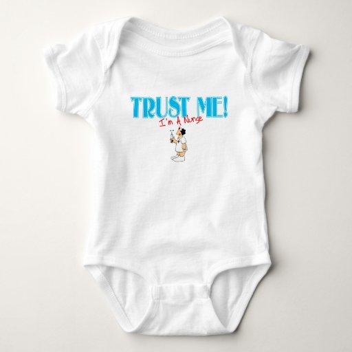 Confíe en que yo es enfermera RN con la aguja Body Para Bebé