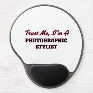 Confíe en que yo es estilista fotográfico alfombrilla gel