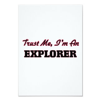 Confíe en que yo es explorador anuncios personalizados