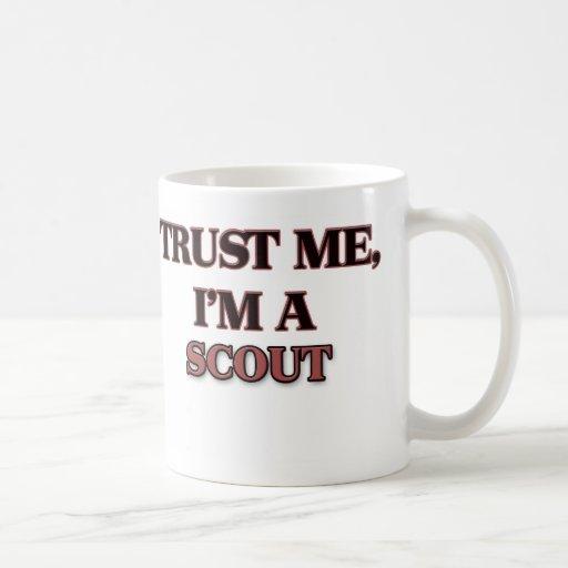 Confíe en que yo es EXPLORADOR Taza De Café