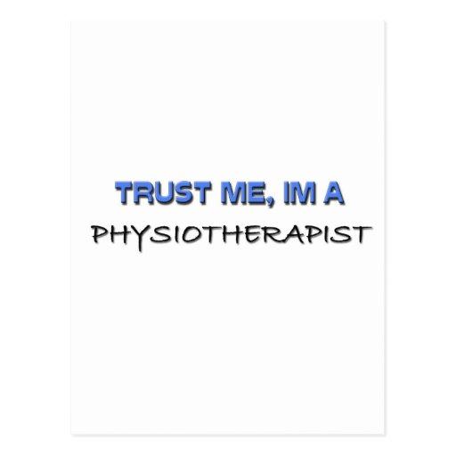Confíe en que yo es fisioterapeuta postal