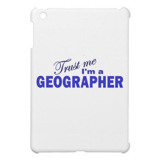 Confíe en que yo es geógrafo