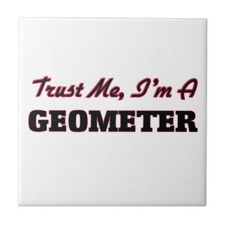 Confíe en que yo es geómetra tejas  cerámicas