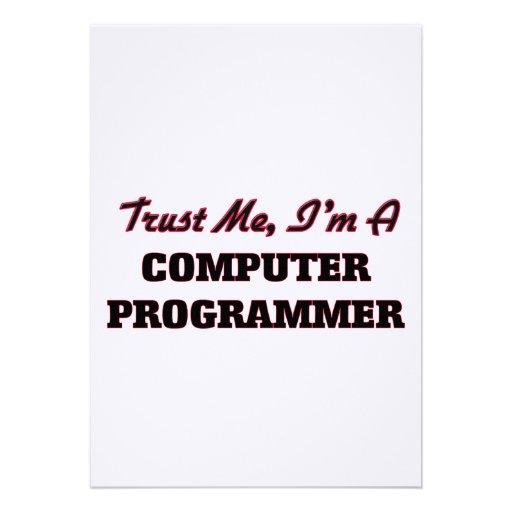 Confíe en que yo es informático anuncios personalizados