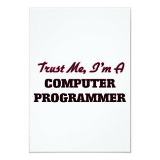 Confíe en que yo es informático invitación personalizada