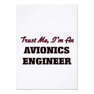 Confíe en que yo es ingeniero de la aviónica comunicados personalizados