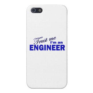 Confíe en que yo es ingeniero iPhone 5 fundas