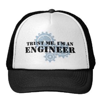 Confíe en que yo es ingeniero gorras